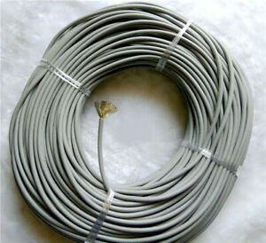 Gray Flexible Silicone Cable Wire 12/14/16/18/20/22/24/28/30AWG Cable 200°C 600V