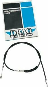 """Drag Specialties 68 11/16"""" Vinyl Clutch Cable, Black  0652-1410"""