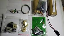Poldhu  valve /Germanium  Crystal radio  DIY KIT with amp and speaker Free Post