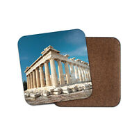 Pretty Parthenon Coaster - Acropolis Athens Greece Greek Travel Fun Gift #16267