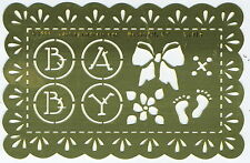 Buttons & Bows - Embossing Stencil by Lasting Impressions