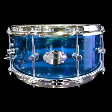 CHAOS ILLUSION ACRYLIC SNARE DRUM 14'' x 5.5'' - BLUE