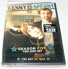 Kenny Vs. Spenny Season 5 (DVD 2-Disc Set) NEW SEALED bonus Commentaries