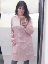 Baby mujer Colegio limpieza talla 54 rayas rojas bata uniforme delantal babi
