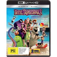 Hotel Transylvania 3: A Monster Vacation (4K UHD/Blu-ray/UV) BLU-RAY NEW