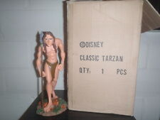 Extremely Rare! Walt Disney Classic Tarzan Polyresin Statue in Box Marked