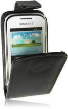 Samsung S5310 Galaxy Pocket Neo Flip Handytasche PU Leder Tasche Schwarz-2 Case