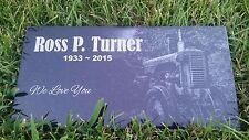Memorial Headstone 6x10 Human grave marker Dog Cat Pet Temporary marker Stone