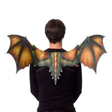 Dragon Halloween Costume WINGS Black Green Orange Game of Thrones Adult Child