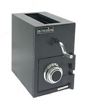 Top Loading Cash Drop Slot Depository Safe w/Dial Combination Lock
