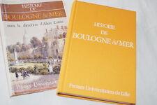 HISTOIRE DE BOULOGNE SUR MER LOTTIN ILLUSTRE 1983 NUMEROTE