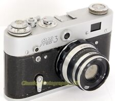 FED 3 LEICA-Based USSR Made 35mm Rangefinder Camera + Industar-61 L/D Lens