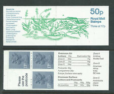 FB33 50p, Frog , Folded Booklet. Star variety