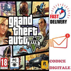 Grand Theft Auto V (GTA V) - PC Rockstar scarica il codice digitale - IT