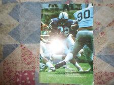 1980 FURMAN FOOTBALL MEDIA GUIDE Yearbook 9-1-1!! DICK SHERIDAN NC State Book AD