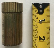 """Extremely Rare! Vintage Peppermill Grinder 2"""" Personal Purse Size Made in Italy"""