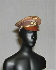 Banjoman 1:6 Scale Custom WW2 German Chancellor's Light Brown Dress Cap