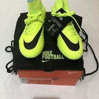 Nike HyperVenom Phantom II AG ACC Soccer Cleats Men's Size 6 Volt 747213-704