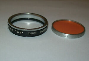 TIFFEN 46MM SCREW IN FILTER HOLDER ADAPTER RING WITH SERIES 6 DAYLIGHT FILTER
