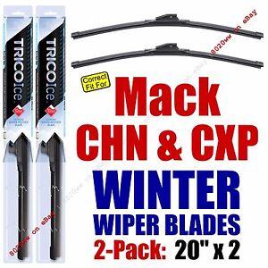 WINTER Wiper Blades 2pk Premium fit 2006-2007 Mack CHN CXP - 35200x2