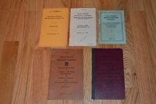 Union Pacific Railroad pocket manuals 1940's, 50's, 60's, group of 5
