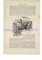 Queen Boadicea (Boudica), Book Illustration (Print), c1870