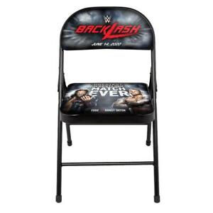 Official WWE Authentic BackLash 2020 Event Folding Chair Multi