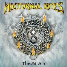 NOCTURNAL RITES - THE 8TH SIN - CD NEW SEALED 2007