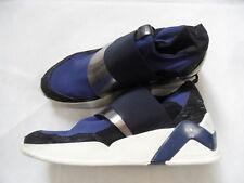 SERAFINI stylische Sneakers Boots blau silber Gr. 40 TOP  SNC618