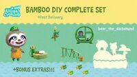 COMPLETE Bamboo DIY Recipe Set: Animal Crossings New Horizons