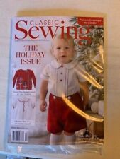 Classic Sewing Magazine Holiday 2020 issue Sealed in package