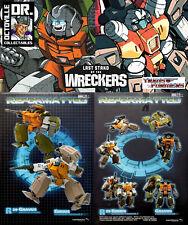 Transformers Mastermind Creations R-39 Ebrius & Gravus / IDW Guzzle & Brawn MISB