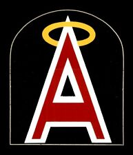 "1973 California Angels The Meyercord Co. Baseball LOGO STICKER 2.75"" X 2.25"""