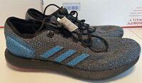 NEW Adidas Pureboost LTD B37811 Black Blue REFLECTIVE Running Boost Mens SZ 13