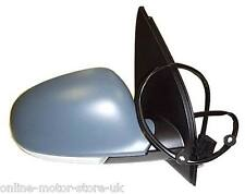 VW GOLF MK5 2004-09 WING MIRROR - RIGHT (DRIVER UK) - HEATED - ELECTRIC - PRIMED