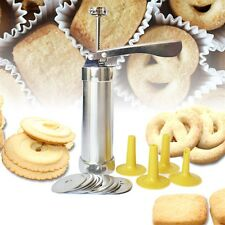 Cookie extruder Press Machine Biscuit Maker Cake Making Decorating Set FE