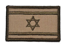 Israeli flags  LOGO Patches ARMY MORALE BADGE  HOOK & LOOP PATCH s  889