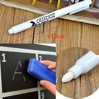 10 Stücke Für Glasfenster Kreidetafel Tafel Marker Weißer Flüssiger Kreidestift