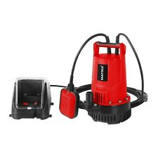 """MATRIX 20V X-ONE Cordless Submersible Sump Water Pump 1"""" Skin Only"""
