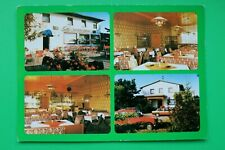 Bayern AK Tännesberg 1980er OPF Cafe Sonnenhof Biergarten Einrichtung Möbel  (1