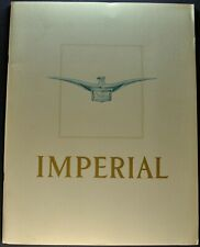 1957 Chrysler Imperial Prestige Brochure LeBaron Crown Excellent Original 57