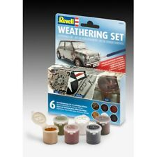 Revell 39066 Weathering 6 Paint Set (39066) Original Revell Model Paints