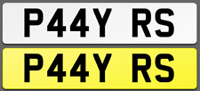 P44 YRS Cherished Reg Number Plate PAY BK PORSCHE AUDI RS4 RS6 RS LAMBO FAST LOW