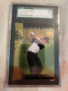 2001 Upper Deck Tiger Woods TT13 Tiger Tales 96 mint