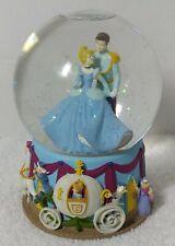"Disney Enesco Cinderella Water Snow Globe Musical ""I Love You Truly"" SNOWGLOBE"