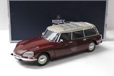 1:18 Norev Citroen ID 21 Break 1970 dark red /beige NEW bei PREMIUM-MODELCARS