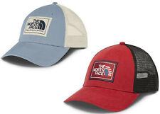 494d8a208c7462 The North Face Mudder Trucker Hat/Cap NEW 2 Colors Snapback Americana