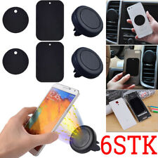 6Stk Lüfter Magnet Halterung Lüftung Auto KFZ Halter magnetisch Smartphone Handy