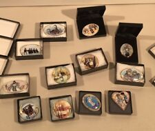 P Buckley Moss Society Pins lot of 12 signed and numbered
