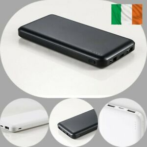 20000mAh Power Bank Charger 2 USB Slim Fast Charge Battery iPhone Samsung Huawei